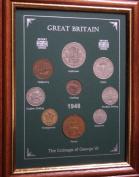 Framed 1948 Coin Year Gift Set