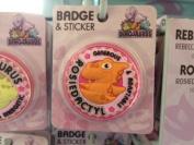 Rosie - Dinosaurus Personalised Name Badge