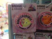 Rebecca - Dinosaurus Personalised Name Badge