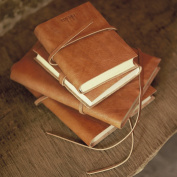 A5 (Large) Nkuku Fair Trade Eco Friendly Recycled Gift / Product Rustic Leather Travel Journal