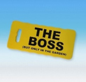 Boxer Gifts The Boss Gardeners Kneeling Pad