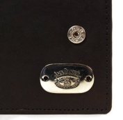 Jack Daniels Leather Wallet with Oval Badge
