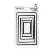 DoCrafts Papercrafts XCut Nesting Dies - Rectangle