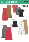 New Look Sewing Pattern - Misses Separates Sizes