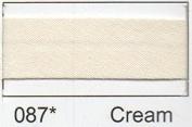 Polycotton Bias Binding 25mm - Cream