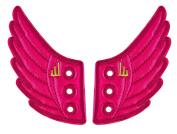 Shwings Foil Moreno Lace, Pink