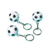 Amscan International Favour Keychain-Soccer, Pack of 12