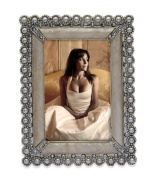 Jodie Rose Pearl Edged Rectangular Picture Frame