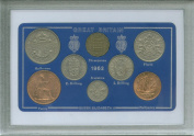 1962 British Coin Birth Year Gift Set