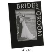 Contempory Bride & GRoom Wedding Photo Frame