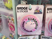 Ella - Dinosaurus Personalised Name Badge