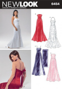 New Look Sewing Pattern - Misses Special Occasion Dresses Sizes