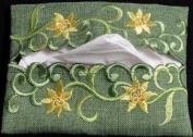 Pocket Tissue Holder in a Daffodil Davina Design