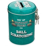 Boxer Gifts Instant Fines Pay Up Tin, Ball Scratching