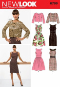 New Look Sewing Pattern - Misses Dresses Sizes