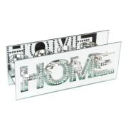 Hestia Glass Mirror Finish Four T-Lite Holder Rectangle Shape - Home