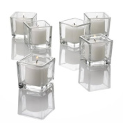 Square Votive Candle Holders Set of 72