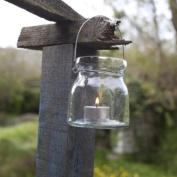 Akti Lantern - Hammered Glass by Nkuku