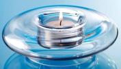 Glass Tea Light Holder - 15 cm