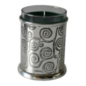 Great Gifts UK- Gustav Klimt Tree of Life Pewter Candle Votive - H:90mm Dia:75mm