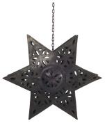 Ian Snow Metal Cutwork Star Tealight Holder