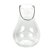 Salco 13 cm Glass Hanging Tealight Holder