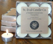 St Eval Natural Scented Tealights x 9 - Tranquilly