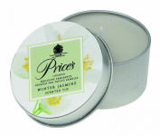 Prices Patent Candles Winter Jasmine Scented Tin