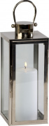 Firefly Ivyline FFPETS54 Platinum Tall Square Lantern, 54 x 22 cm