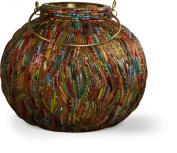 Firefly Ivyline FFJGL15 Jewelled Globe Lantern, 15 x 13 cm