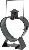 BBTradesales Heart Shaped Metal Lantern