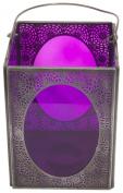 Ian Snow Rectangular Box Lantern, Purple