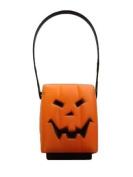 Square Pumpkin Halloween Lantern - Battery Operated