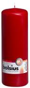 Bolsius Outdoor/Indoor Pillar Candle 200x70mm - Wine Red