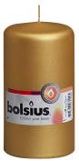 Bolsius Outdoor/Indoor Pillar Candle 130x70mm - Gold