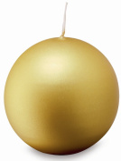 Ivyline Bolsius 103610039582 Ball candle, Gold, 700mm