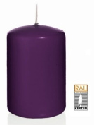 blueberry Pillar candles, 100/150 mm, 6 candles