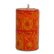 "Kapula pillar candle ""African Sunset"", 6 x 10 cm"
