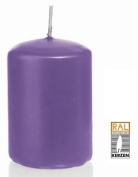 purple Pillar candles, 60/120 mm, 16 candles