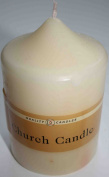 Quality Cream Church Candle (Dane Collection) 50 hours