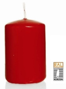 Ruby Red Pillar candles, 60/120 mm, 16 candles