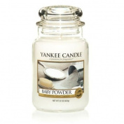 Yankee Candle Large Baby Powder Jar Candle 1122150