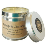 St Eval Scented Candle Tin - Orange & Cinnamon