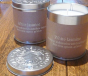 Tin Candle - Limited Edition White Jasmine by St Eval Candle