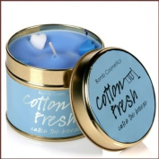 Bomb Cosmetics Scented Candle Tin, Cotton Fresh