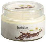 Ivyline Bolsius 63 x 90 mm Scented Glass Jar, Vanilla