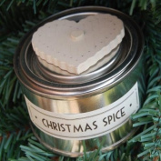 East of India Christmas Candle in a Tin Christmas Spice