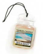 Yankee Candle Car Jar Freshener Ultimate Sun and Sand SINGLE