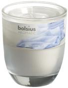 Ivyline Bolsius 80 x 70 mm Scented Glass Jar, Fresh Linen