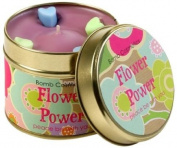 Bomb Cosmetics Scented Candle Tin, Flower Power